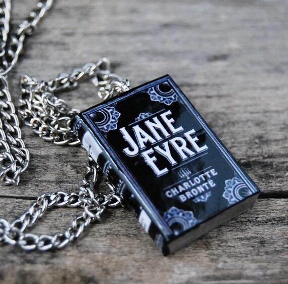 Jane Eyre mini book necklace