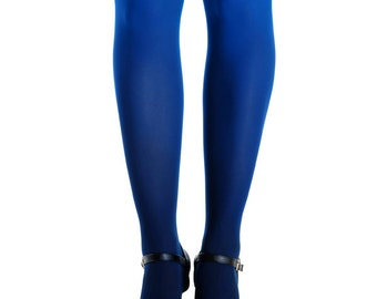 NEW! Black-blue ombre tights