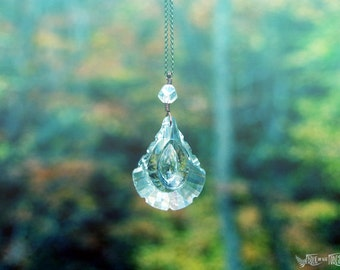 Rain Rays - Prism - Rainbow Maker- Window Hanging or Necklace