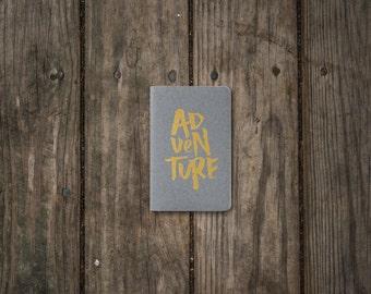 Adventure Moleskine Gray Notebook - Wild Creatives