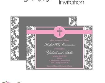 Religious printable invitation
