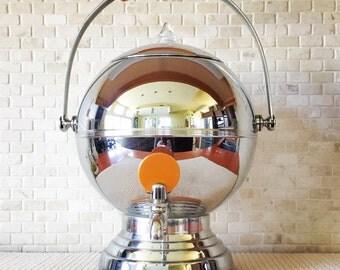Vintage Manning Bowman Art Deco Chrome & Bakelite Coffee Percolator