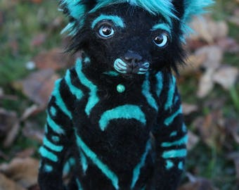 custom ANTHRO poseable art doll