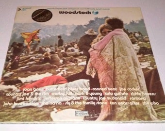 WOODSTOCK triple record SD-3-500 VG+ Free Shipping