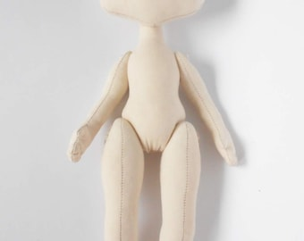 PDF,doll body,Cloth Doll Pattern,PDF Sewing Tutorial,Soft Doll Pattern