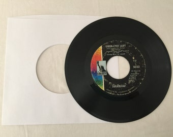 Sugarloaf Green Eyed Lady & West Of Tomorrow Vintage Vinyl 45 rpm Record 1970 Liberty Records 56183
