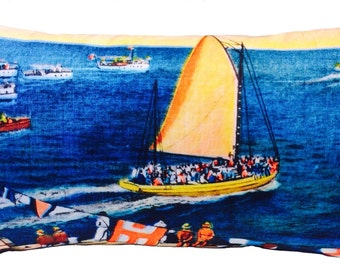 sailing  cushion ON SALE