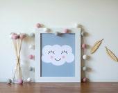 Baby Pink White Grey Felt Ball Garland | Flower Poms | Modern Girl Nursery | Baby Shower Gift | Pink Grey Party Decor | Pink Girl Birthday