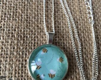 Bumblebee Necklace