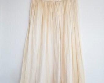 Creme Lace Petticoat Skirt