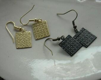 Bingo Earrings - Bingo Players Jewelry - Free Shipping - Game Earrings - Bingo Gift
