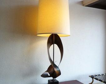 Huge Harry Balmer Ribbon Lamp for Laurel