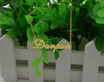 """Shop """"name plate"""" in Necklaces"""