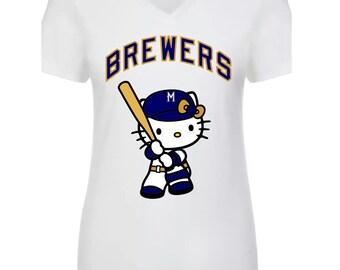 Similar Milwaukee Brewers Hello Kitty - T-Shirt