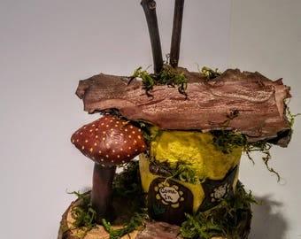 Miniature Tree House miniature tree house | etsy