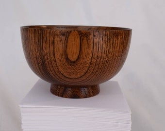 Mahogany Rice Bowl