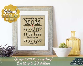 Home Gifts for Mom, Christmas Gift Personalized, Christmas Gift for Mom from Daughter, Christmas Gift from Son, Gift from Husband, Wife Gift