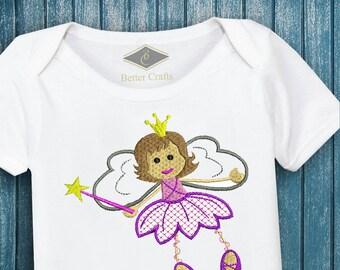 50% OFF Fairy Princess | Machine Embroidery Applique Design 4 Sizes