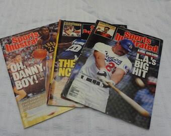 THREE (3) SPORTS ILLUSTRATED March - April 1988