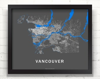 Far Sky Vancouver, British Columbia Roadnet Map