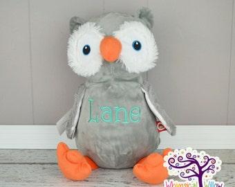 Owl Stuffed Animal Cubbie