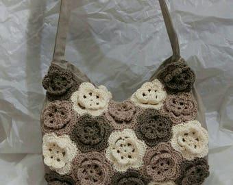 Handmade wool bag