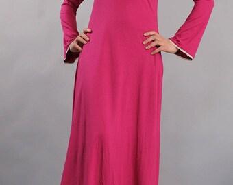 Nightdress, Night gown, bedgown, sleepwear, lounge wear, home wear, camisón, casual wear, plus size nightgown, UrbanMood, UM-ND03-CO