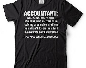 Accountant Noun T-Shirt Funny Occupation CPA Tee Shirt