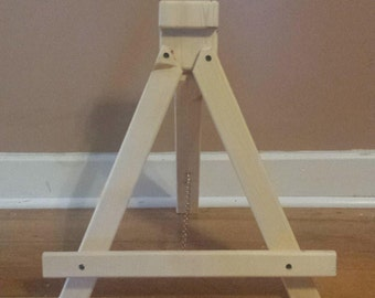 Solid Pine Handcrafted Easel