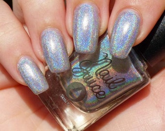 Spectrum - Spectraflair Silver Holographic Nail Polish