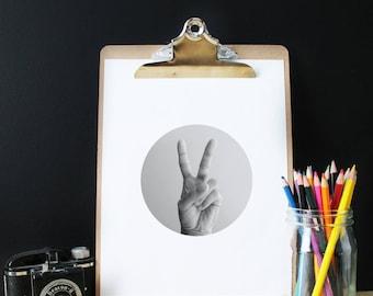 Peace, Black white photography, Scandinavian print, Digital Download, Modern, Minimalist, poster scandinavia, black and white prints