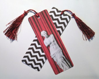 Black lodge / Red room: Twin Peaks bookmark