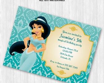 Jasmine Party Invitation