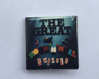 Sex Pistols 1980s Vintage Dead Stock Square Pin