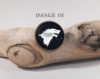 Pin 20mm Game of Thrones Winter is coming