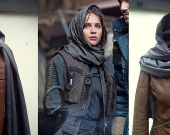 Jyn Erso Scarf Shawl Wrap Snood Cosplay Costume Rogue One: A Star Wars Story