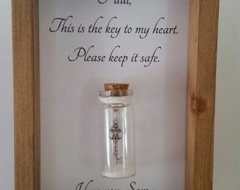Boyfriend gift, Gifts for boyfriend, Anniversary gifts for boyfriend.  Can be personalised with names or your own message.