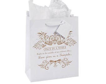 6 /Elegant Wedding Gift Bags/ Wedding/ party gift bags / party favor bags/ gift bags / wedding gift bags/ wedding favor bags