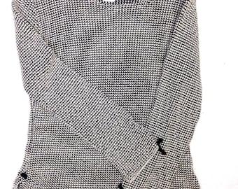 Olympic Tie Sweater SZ M