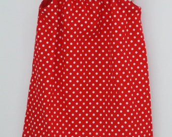 Red dotted Flutter Sleeve dress in Size 3T