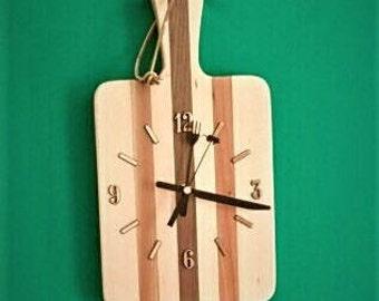Cutting Board Clock