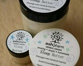 Sleep Butter! Classic Lotion with Special Essential Oils Blend created with this intention: Sleep Better!