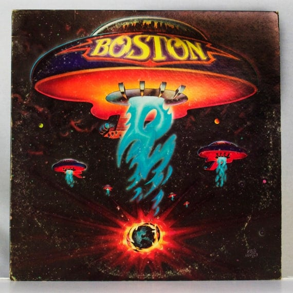 Boston 1976 Self Titled Album Epic Records Original Vintage Vinyl