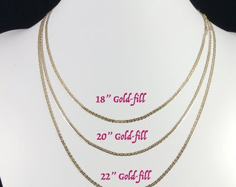 Gold-filled and Rose Gold-filled  Necklaces - Add On Only