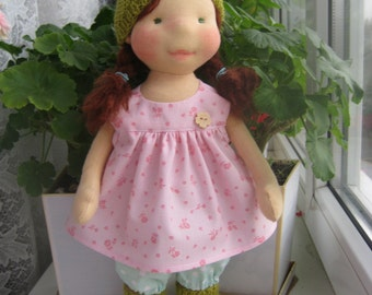 Waldorf doll 15 waldorf fabric doll steiner by ninawaldorfdoll - Material waldorf ...