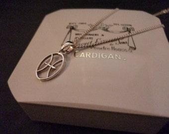 """Unique sterling silver pendant - 925 - 16"""" necklace"""
