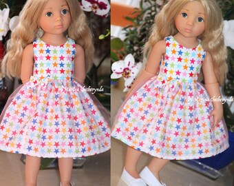Doll dress for Gotz dolls.