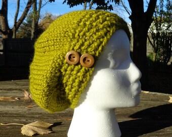 Avocado Chunky beret