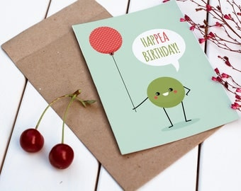 Printable Birthday Card | Funny Birthday Card | A Toast to Your Birthday | Pun Card | Funny Card | Boyfriend Birthday | Girlfriend Birthday