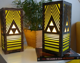 Ode to Zelda LED Lamp - large size